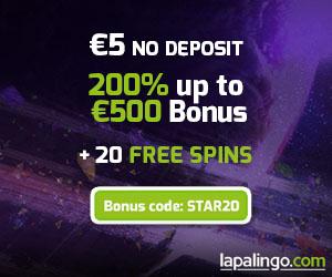 www.lapalingo.com - Bonus de 500 $ | Plus de 1,200 jeux